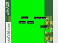 משדר WIFI  (משדר וויפי ) כולל מתאם Esp8266